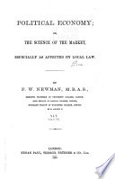 Miscellanies  Science of the market Book