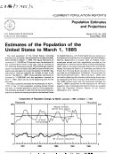 Pdf Estimates of the Population of the United States to ...