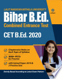 Nalanda Open University Bihar B ed Guide 2020