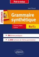 Pdf Grammaire synthétique de l'espagnol en 60 fiches pratiques. Telecharger