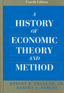 A History Of Economic Theory And Method