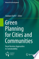 Green Planning for Cities and Communities Book