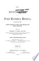 The Encyclopedia of Pure Materia Medica Book