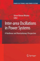 Inter area Oscillations in Power Systems
