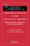 Unbounded Functionals in the Calculus of Variations