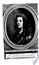The Works of Sr William D'avenant Kt