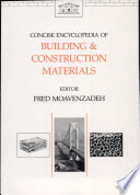 Concise Encyclopedia of Building and Construction Materials Book