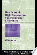 Handbook Of High Temperature Superconductor Book PDF