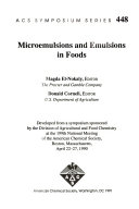 Microemulsions and Emulsions in Foods