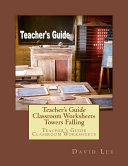 Teacher s Guide Classroom Worksheets Towers Falling