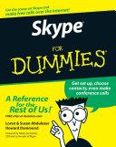 Skype For Dummies Book
