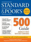 Standard & Poor''s 500 Guide, 2011 Edition Pdf/ePub eBook