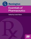 Remington Essentials Of Pharmaceutics Book PDF