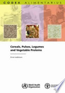 Cereals  Pulses  Legumes and Vegetable Proteins