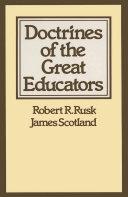 Doctrines of the Great Educators