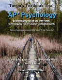 AP  Psychology Student Workbook for Use with Myers  Psychology for the AP Course  3rd Edition  2018