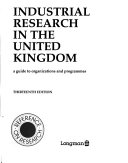 Industrial Research in the United Kingdom