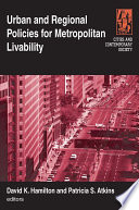 Urban And Regional Policies For Metropolitan Livability Book PDF
