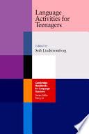 Language Activities for Teenagers Book