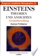 Einsteins Theorien und Ansichten