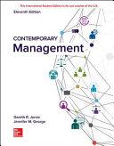 Contemporary Management 11e Book