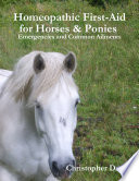 Homeopathic First Aid for Horses   Ponies   Emergencies and Common Ailments