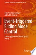 Event Triggered Sliding Mode Control