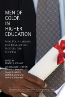 Men of Color in Higher Education Book