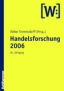 Handelsforschung 2006