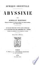 Afrique orientale; Abssinie