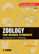Pdf Zoology for Degree Students (For B.Sc. Hons. 2nd Semester, As per CBCS) Telecharger