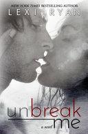Unbreak Me [Pdf/ePub] eBook