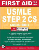 First Aid for the USMLE Step 2 CS  Fourth Edition Book