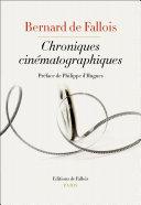 Pdf Chroniques cinématographiques Telecharger