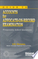 Guide To Accounts For Advocate On Record Examination Frequently Asked Questions