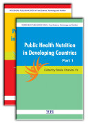 Public Health and Nutrition in Developing Countries  Part I and II