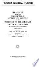 Voluntary Industrial Standards