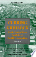 Curbing Gridlock: Commissioned papers
