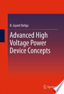 Advanced High Voltage Power Device Concepts Book