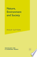 Nature  Environment and Society Book