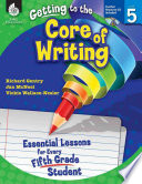 Getting To The Core Of Writing