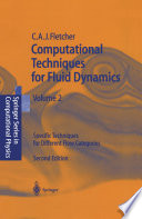 Computational Techniques For Fluid Dynamics 2