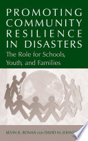 Promoting Community Resilience in Disasters
