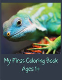 My First Coloring Book Ages 1