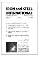 Iron and Steel International Book