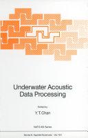 Underwater Acoustic Data Processing [Pdf/ePub] eBook