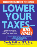 Lower Your Taxes - BIG TIME! 2019-2020: Small Business Wealth Building and Tax Reduction Secrets from an IRS Insider Pdf/ePub eBook