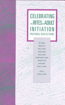 Pdf Celebrating the Rites of Adult Initiation