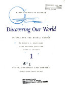 Basic Studies in Science  Discovering Our World Book