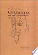 Cervantes and the Hermeneutics of Satire